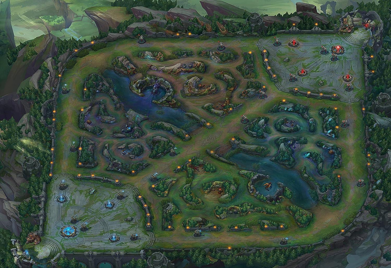 League Of Legends Karte
