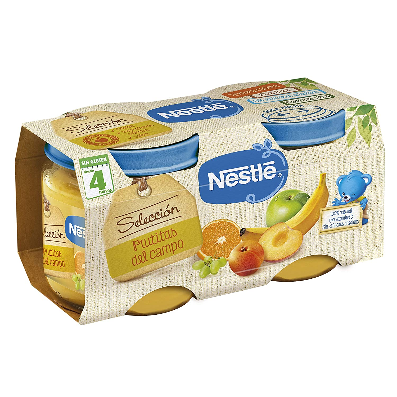 Nestlé Naturnes - Alimento Infantil Puré de Frutas - Paquete de 2 x 200 g - Total: 400 g: Amazon.es: Alimentación y bebidas