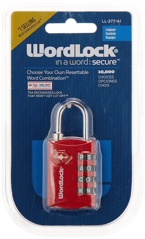 WORDLOCK INC 4-Dial Word Luggage Lock