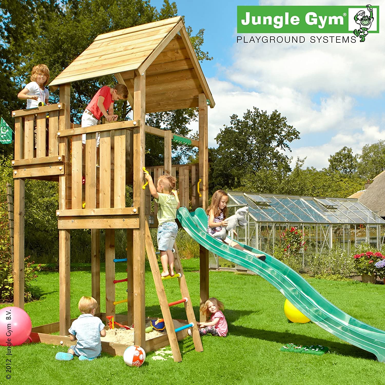 Jungle Gym Spielturm PALACE