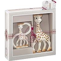 Vulli - Sophiesticated - Sophie la Girafe - Coffret Cadeau Naissance Sophie la girafe + Anneau de Dentition