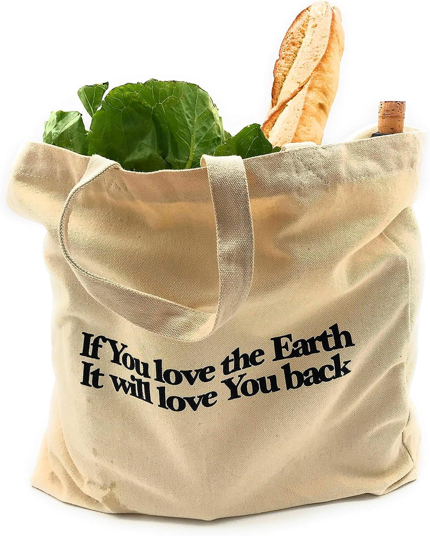 Organic cotton grocery bag ショッピングバッグ