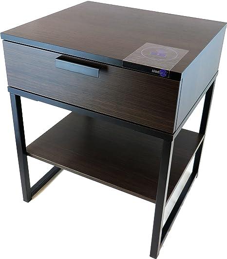 Amazon.com: [modwell Mesita de noche] – IKEA Lack Mesa ...