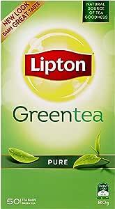 Lipton Green Tea Bag Pure 6x50 Pack, 6 x 50 Bags