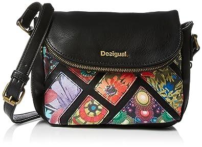 pas mal 2f52a d4bac Desigual Bag Breda Indiana, Black: Amazon.in: Shoes & Handbags