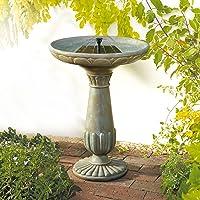 Smart Solar Portsmouth Solar Bird Bath Fountain