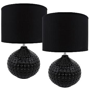 Brubaker Lampe De Table De Chevet Lot De 2 Design Moderne