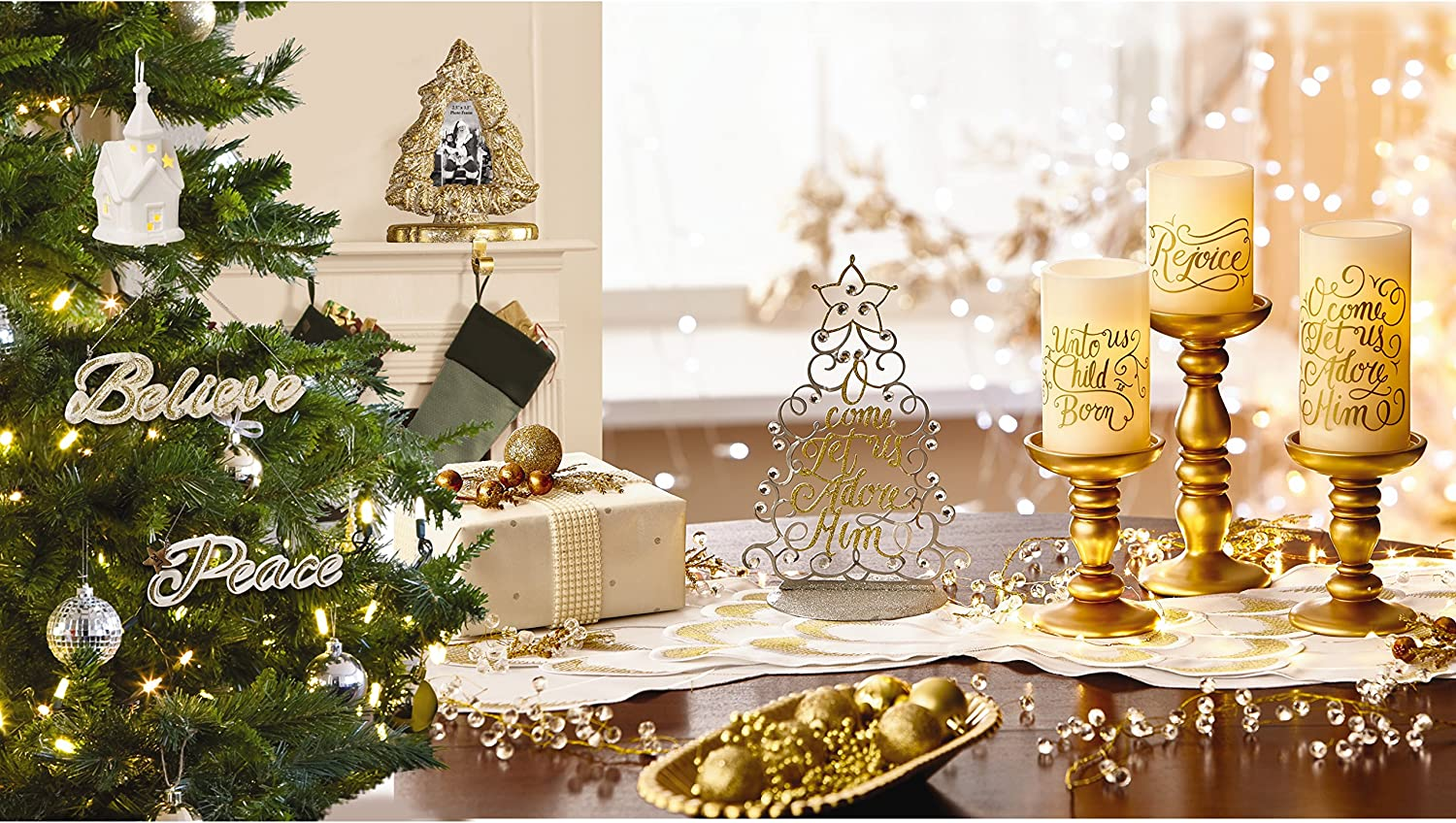 Precious Moments 171405 LED 4in Pillar Candle