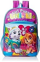 Nickelodeon Girls' Paw Patrol Rainbow 16 Inch Backpack