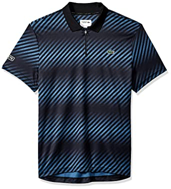 Lacoste Hombre DH3442-51 Manga Corta Camisa Polo - Negro - Small ...