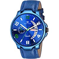 Eddy Hager Blue Day & Date Men's Watch EH-154-BL