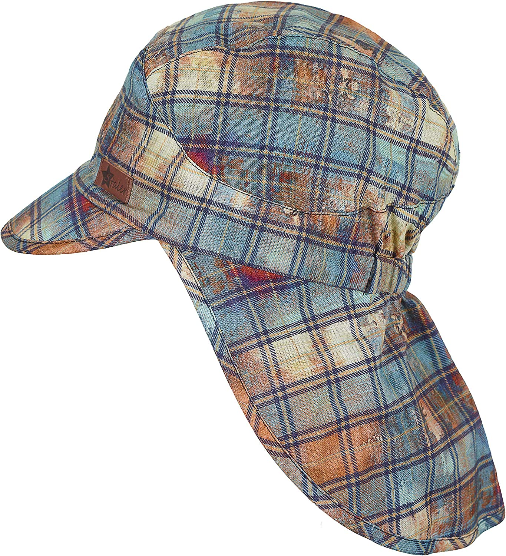 Sterntaler Baby-Jungen Worker-Cap with Neck Protection M/ütze