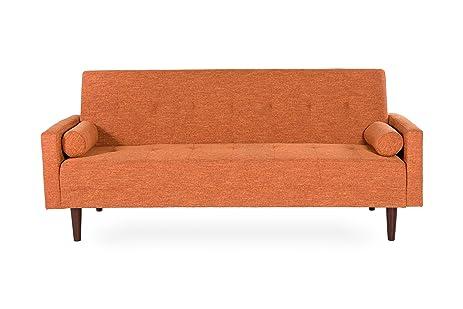 Amazoncom Vitalia Adjustable Klik Klak Sofa Futon Bed Sleeper