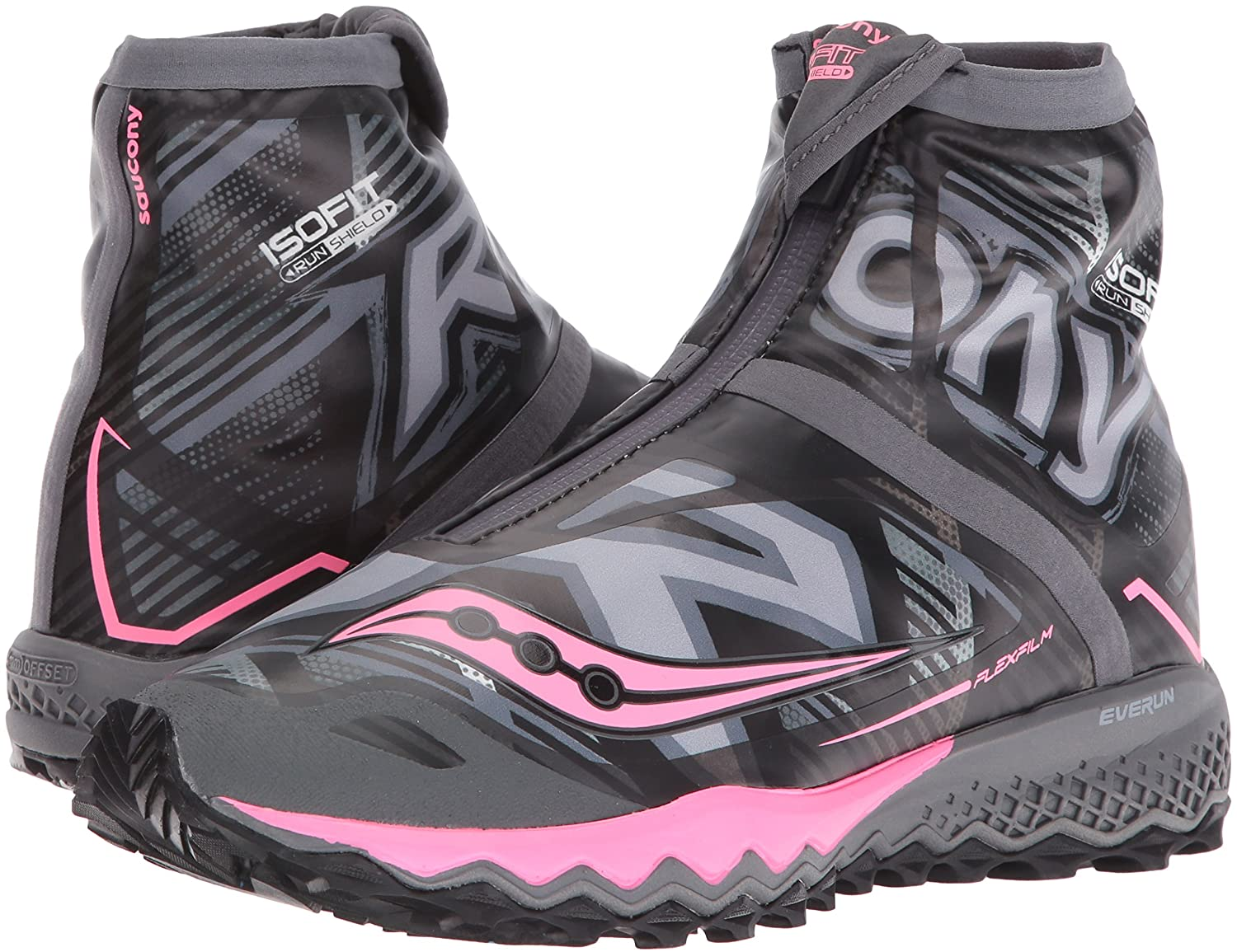 Saucony Women's Razor Ice+ Trail Running US|Black/White/Combo Shoe B018F9HSUC 7 B(M) US|Black/White/Combo Running 4133ca