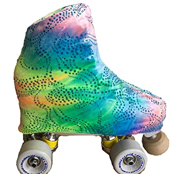 Patines 4 Ruedas.com FUNDA PATINES ARTÍSTICO DREAM PURPURINA: Amazon.es: Deportes y aire libre