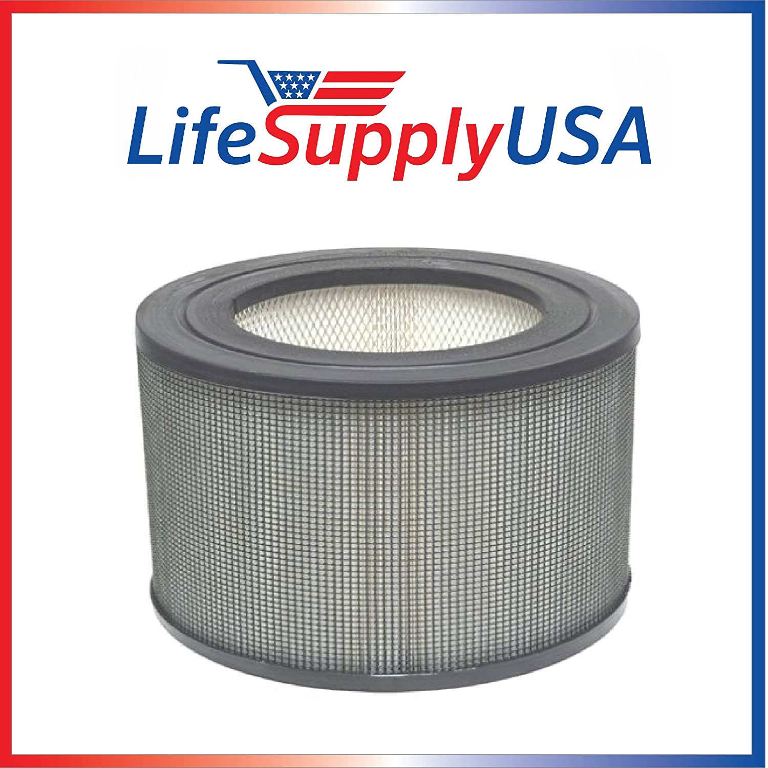 LifeSupplyUSA Replacement Filter Fits Honeywell 24000/24500 Air Cleaner 13350 13500 13501 13502 13503 13520 13523 13525 13526 13528 13350 50250 50251 52500 63500 83162 83259 83287 83332