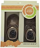 Livie & Luca Cora Leather Crib Shoes, Infant, Girls