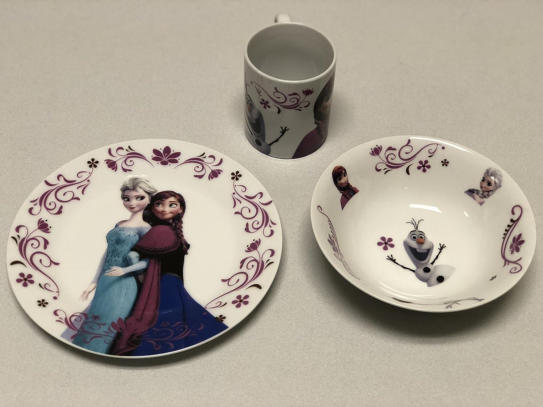 Disney' s Frozen Dinner Set Li' l Munchkins