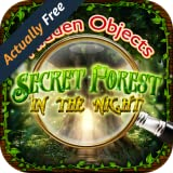 Hidden Objects - Secret Forest in the Night - Spot Difference, Picture Object Finder, and Photo Hunter Games FREE