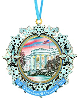 2009 white house holiday christmas tree x mas ornament