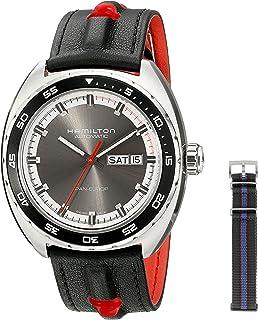 Hamilton H35415781 - Reloj de Pulsera Hombre, Tela, Color Gris