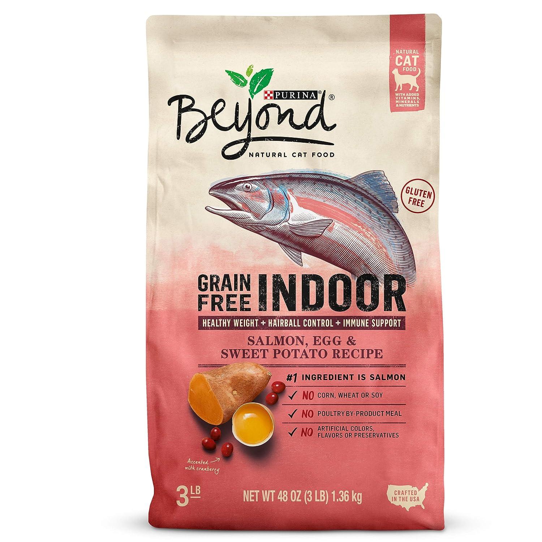 3 lb. Bag Purina Beyond Grain Free Indoor Salmon Egg & Sweet Potato Recipe, 3 lb