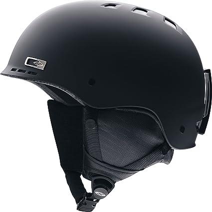 567f5b6aa3 Amazon.com  Smith Optics Unisex Adult Holt Snow Sports Helmet (Matte ...