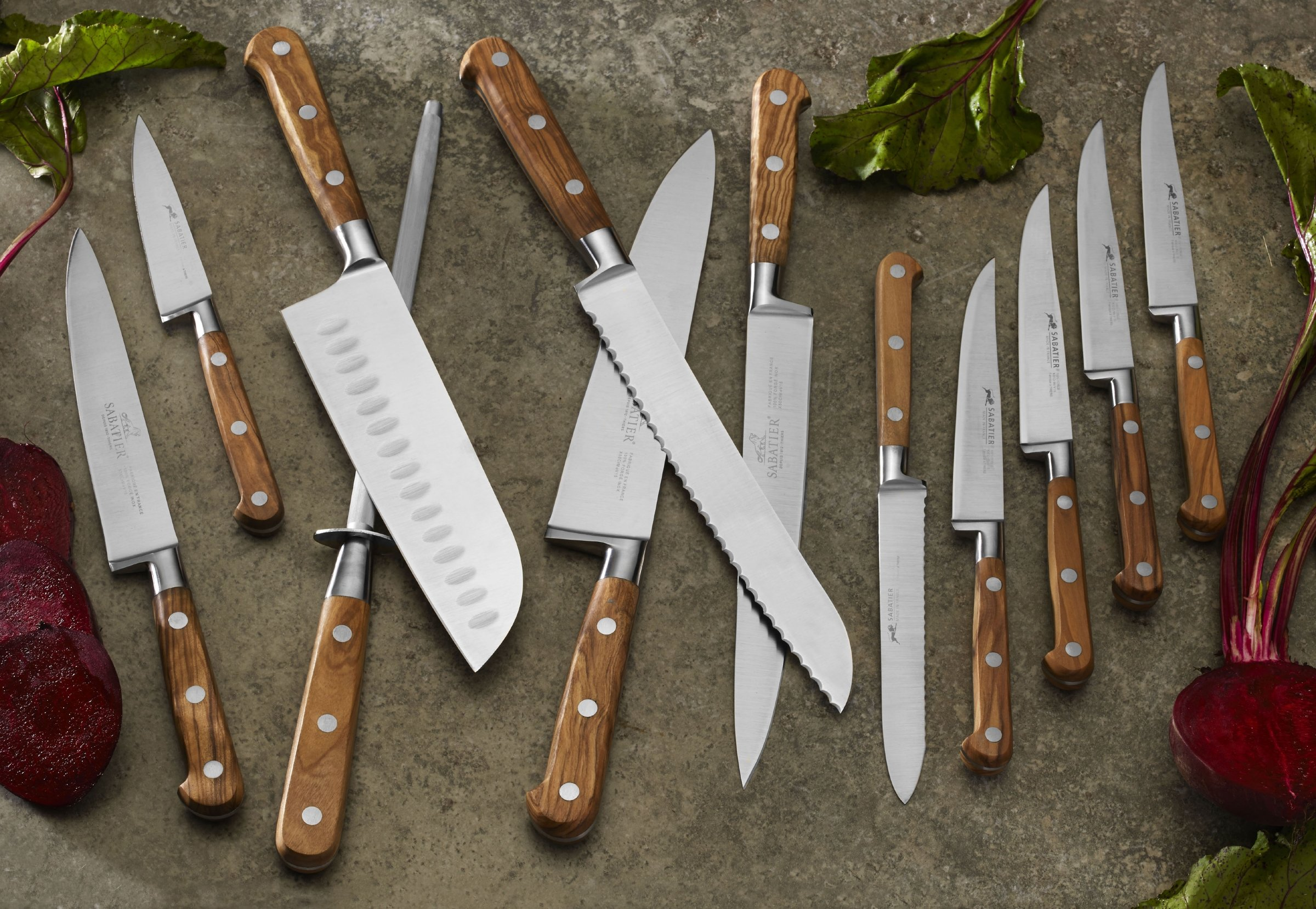 Sabatier Olivewood Stainless Steel Bread Knife, 8-Inch by Sabatier (Image #3)