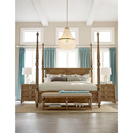 Beau A.R.T. Furniture Pavilion Poster Bed With Canopy And Posts King
