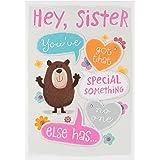 Hallmark Sister Birthday Card 'Special Something' - Medium