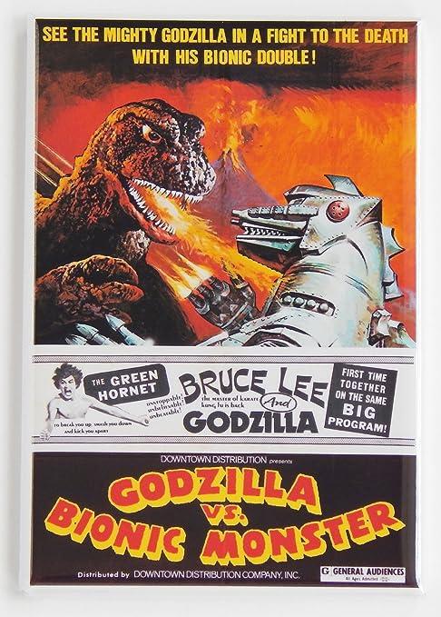 Godzilla veces más Bionic Monster imán para nevera: Amazon.es: Hogar