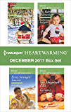 Harlequin Heartwarming December 2017 Box Set: A Gift for Santa\Every Serengeti Sunrise\His Baby Dilemma\The Happiness Pact