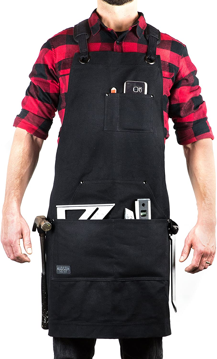Hudson Durable Goods - Deluxe Edition - Waxed Canvas Tool Apron