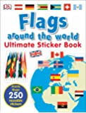 Ultimate Sticker Book: Flags Around the World (Ultimate Sticker Books)