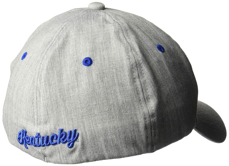 Grey NCAA Zephyr Kentucky Wildcats Mens Tailored Stretch Hat Medium//Large