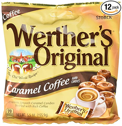 amazon com werther s original caramel coffee hard candy