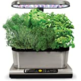 Miracle-Gro AeroGarden Harvest Elite with Gourmet Herb Seed Pod Kit, Stainless Steel