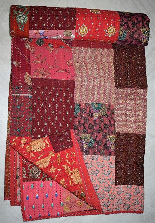 Plastic quilt template Indian Patch