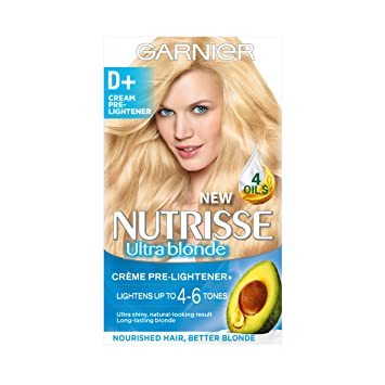 Garnier Nutrisse D+ Creme Pre-Lightener Permanent Hair Dye: Amazon ...