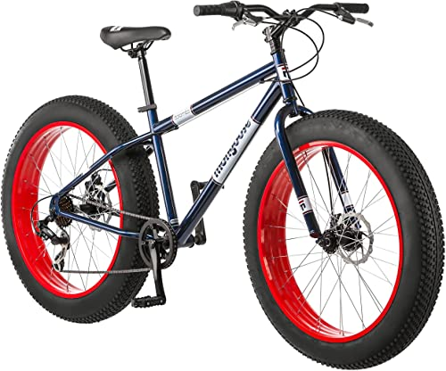 Mongoose Dolomite Fat Tire Mens Mountain Bike