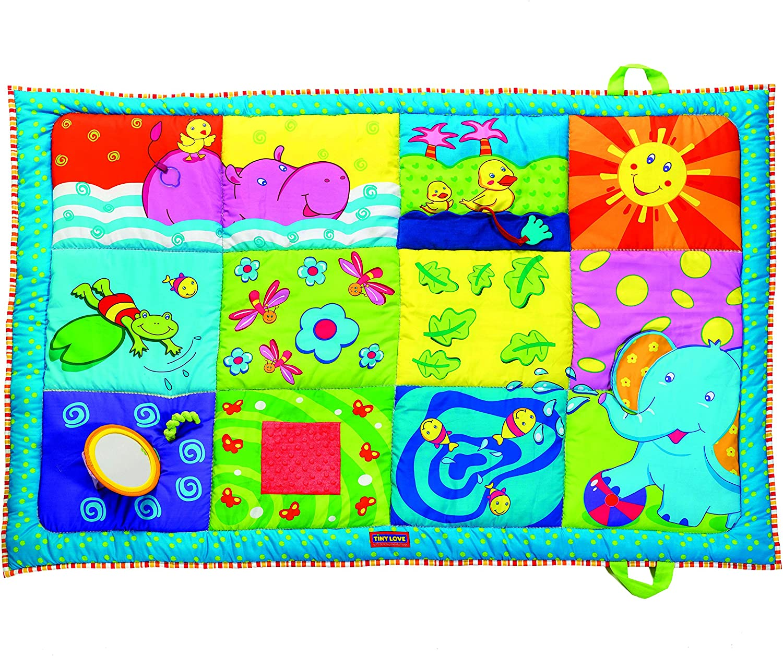 Tiny Love 33312019 Super Mat - Manta para Gatear, Multicolor