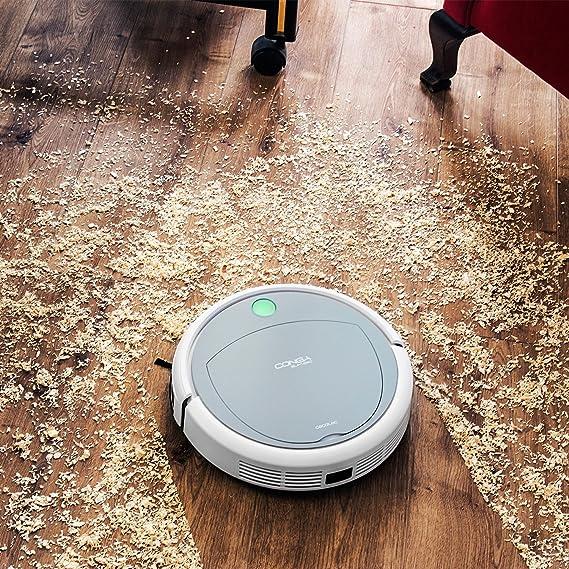 Cecotec Robot aspirador Conga Slim 890 Wet. 4 en 1: Barre, aspira ...