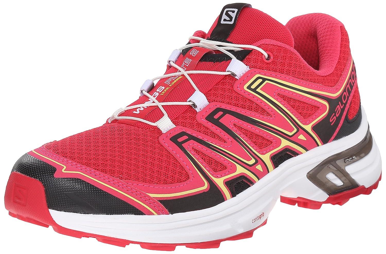 Salomon Women's Wings Flyte 2 W Trail Running Shoe B00ZLMYX9G 5 B(M) US Lotus Pink/Hot Pink/Citrus-x
