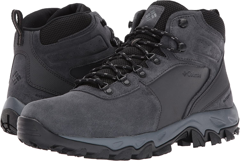 Columbia Mens Newton Ridge Plus Ii Suede Waterproof Hiking Boot Shoe