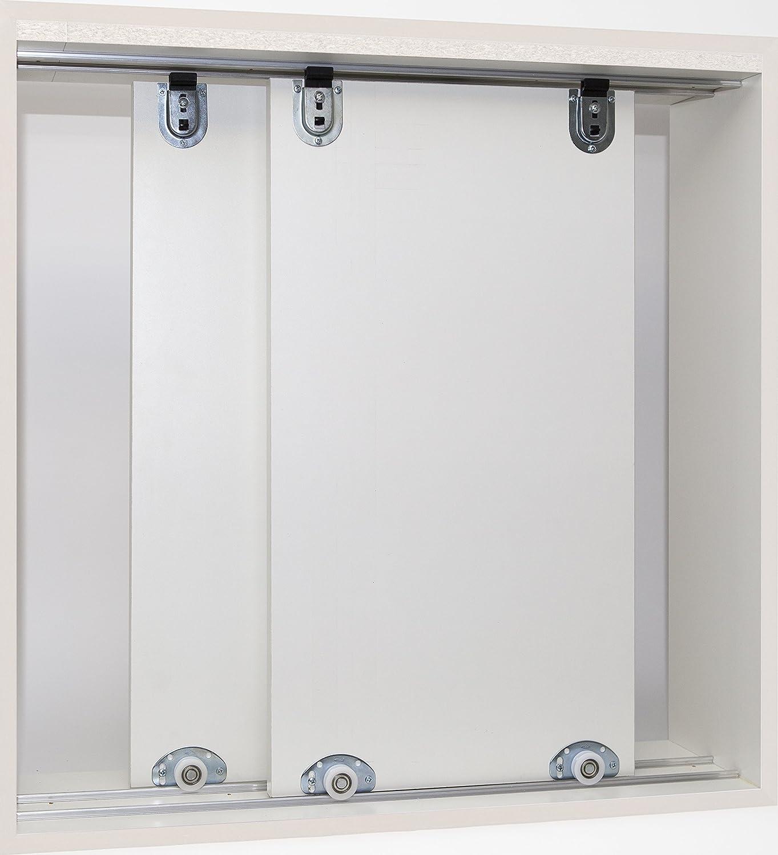 Muebles Puerta Corredera montar herrajes. Para 2 puertas, unidad ...