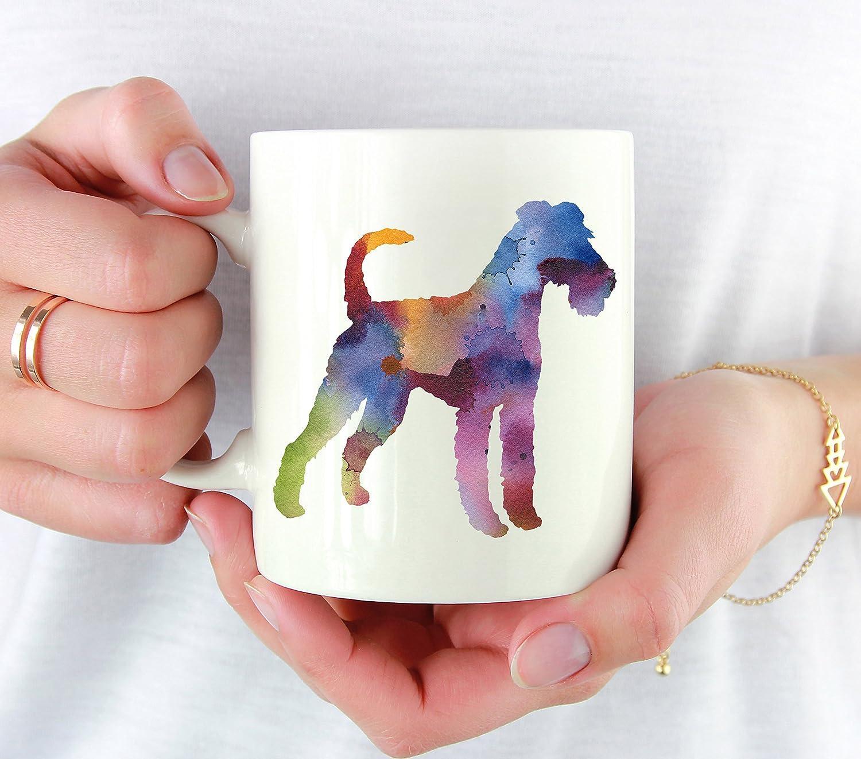 IRISH TERRIER COFFEE picture animal dog art Mug  11 oz