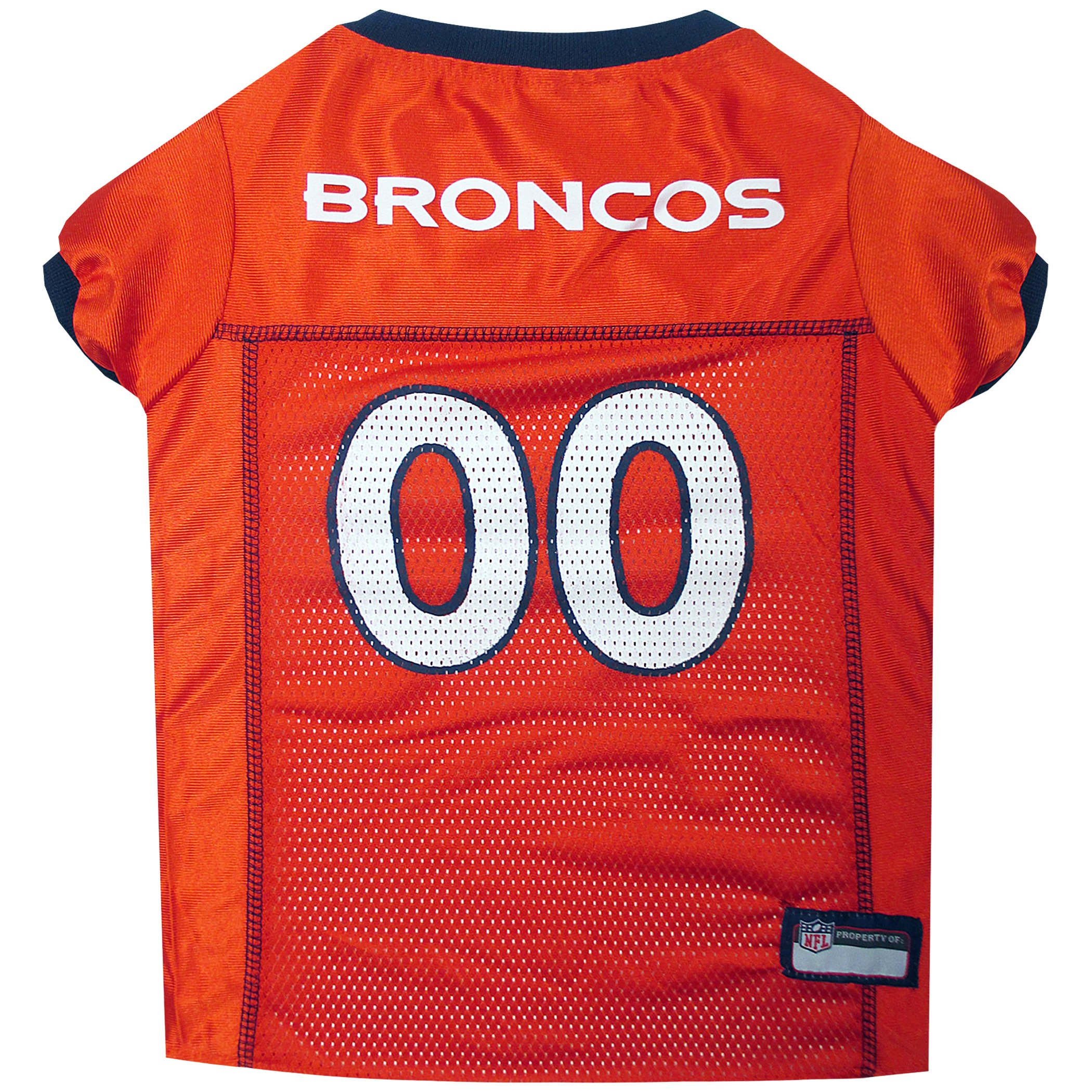 Pets First NFL DENVER BRONCOS DOG Jersey, X-Large