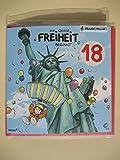 Archies Musikkarte Geburtstagskarte 18. Geburtstag Aufklappkarte Briefumschlag Musik