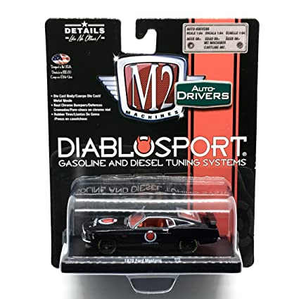 M2 Machines 1970 Ford Mustang (Diablo Sport) Gloss Black Auto-Drivers Release 48