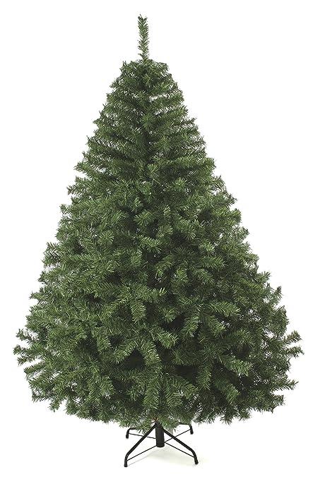 c57405327b0 Arbol de Navidad Naviplastic Canadiense Verde 190 cm altura  Amazon ...